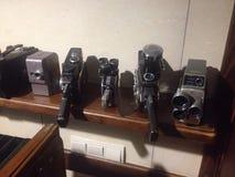 Vieux appareils-photo Photos stock