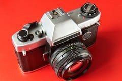 Vieux appareils-photo de film Photos stock