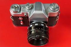 Vieux appareils-photo de film Image libre de droits