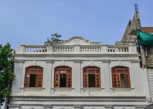 Vieux bâtiment à Colombo, Sri Lanka photo stock
