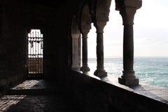 Vieux bâtiment à Porto Venere photos libres de droits