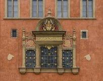 Vieux bâtiment à Prague Photos stock