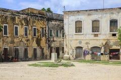 Vieux bâtiment - île de la Mozambique Images libres de droits