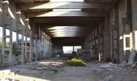 Vieux bâtiment abandonné images libres de droits