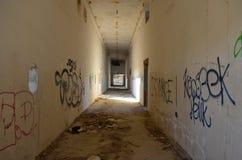 Vieux bâtiment abandonné image stock