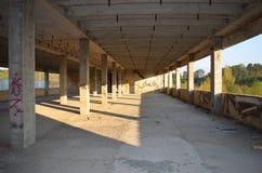 Vieux bâtiment abandonné photographie stock libre de droits