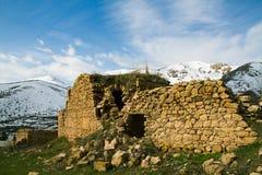 Vieux bâtiment chrétien image libre de droits