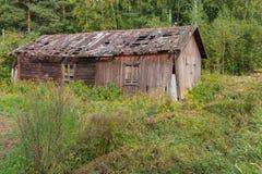Vieux bâtiment délabré Image stock