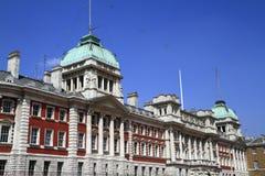 Vieux bâtiment d'Amirauté à Londres Photographie stock libre de droits