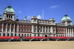 Vieux bâtiment d'Amirauté à Londres Images stock
