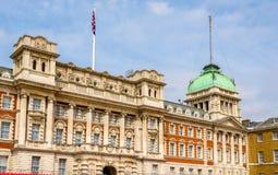 Vieux bâtiment d'Amirauté au centre de la ville de Londres Photo libre de droits