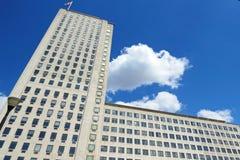 Vieux bâtiment d'entreprise à Londres Image libre de droits