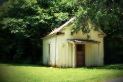 Vieux bâtiment dans Bastrop Images stock