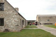Vieux bâtiment dans ce fort Image libre de droits