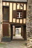 Vieux bâtiment dans des Frances de Vitré Photographie stock