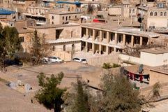 Vieux bâtiment dans Distric du Kurdistan d'Akre Aqrah de l'Irak Images stock