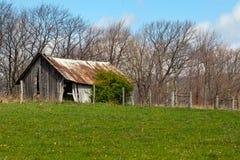 Vieux bâtiment de ferme Photographie stock