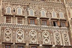 Vieux bâtiment de Sanaa - Yémen Photographie stock libre de droits
