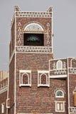 Vieux bâtiment de Sanaa - Yémen Photos libres de droits