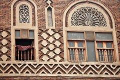 Vieux bâtiment de Sanaa - Yémen Images stock