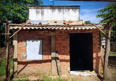 Vieux bâtiment de Shack Images libres de droits