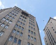 Vieux bâtiment deux de Changhaï Images stock