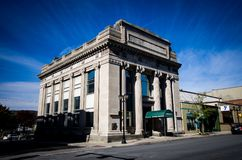 Vieux bâtiment en Pennsylvanie Images libres de droits