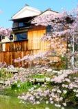 Vieux bâtiment, Hachiman-Bori, l'OMI-Hachiman, Japon Image libre de droits