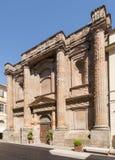 Vieux bâtiment néoclassique, Casale Monferrato, Italie photo libre de droits