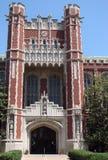 Vieux bâtiment scolaire Photo stock