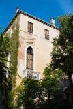 Vieux bâtiment vénitien Photographie stock libre de droits