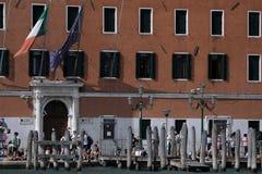 Vieux bâtiments à Venise, Italie, détails urbains Images stock