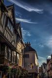 Vieux bâtiments à York, Yorkshire, Angleterre le R-U photo libre de droits