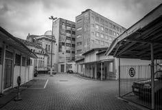 Vieux bâtiments décadents Image stock