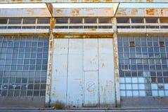 Vieux bâtiments d'entrepôt images stock