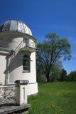 Vieux bâtiments d'observatoire d'université de Vilnius Photos libres de droits