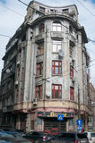 Vieux bâtiments de Bucarest Image stock