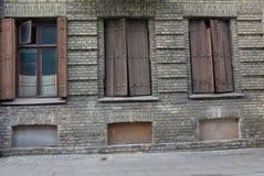 Vieux bâtiments européens photo libre de droits