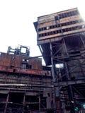 Vieux bâtiments industriels Photographie stock