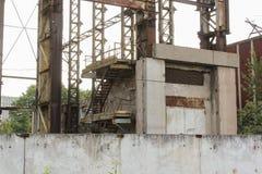 Vieux bâtiments industriels Images stock