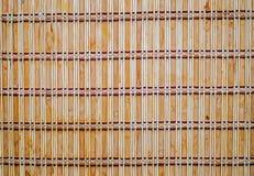 Vieux bâtons en bambou traditionnels japonais Image libre de droits