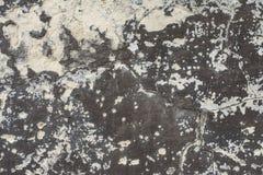 Vieux béton avec le décalque Photographie stock