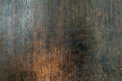 Vieux Ba extérieur en bois antique brun foncé noble parfait de décoration Photographie stock libre de droits