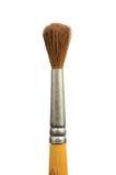 Vieux balai utilisé d'écureuil de peinture d'isolement par pinceau Image libre de droits