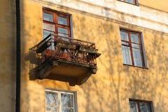 Vieux balcon. Images stock