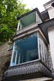 Vieux balcon Photo libre de droits
