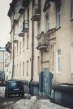 Vieux balcon Photos libres de droits