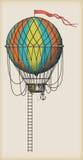 Vieux ballon à air Photo libre de droits