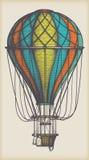 Vieux ballon à air Image stock