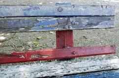 Vieux banc Photo libre de droits